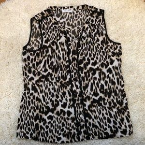 Calvin Klein leopard cami